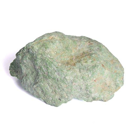 Gemhub Ópalo Verde Crudo Natural del Cristal 602.5 CT del ópalo Crudo para el Crying Reiki Crytsal Que Cura DQ-207