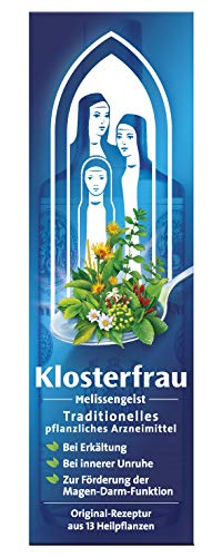 Klosterfrau Melissengeist 47 ml natürlich wirksam bei Erkältung, innerer Unruhe, Schlafstörungen, Magen-Darmbeschwerden und Muskelbeschwerden