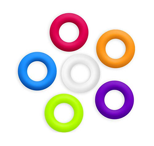 Contento 655101 Loop Topfuntersetzer aus Silikon