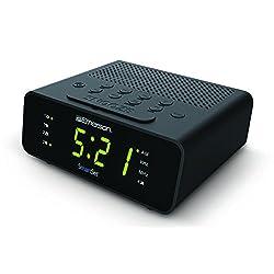 Emerson CKS1800 SmartSet Alarm Clock Radio with AM/FM Radio, Dimmer, Sleep Timer and .9 LED Display, CKS1800