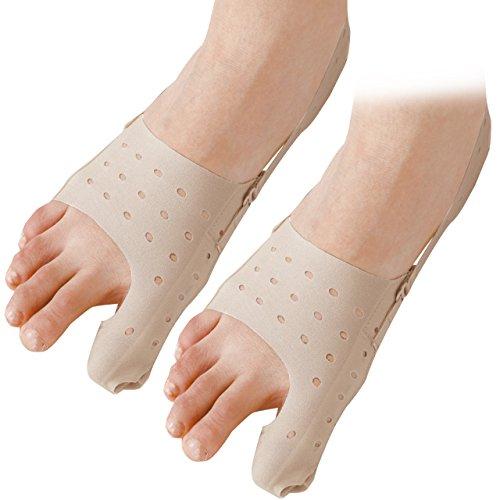 セルヴァン 薄型母趾サポーター ベージュ 24-25.5cm 2枚組