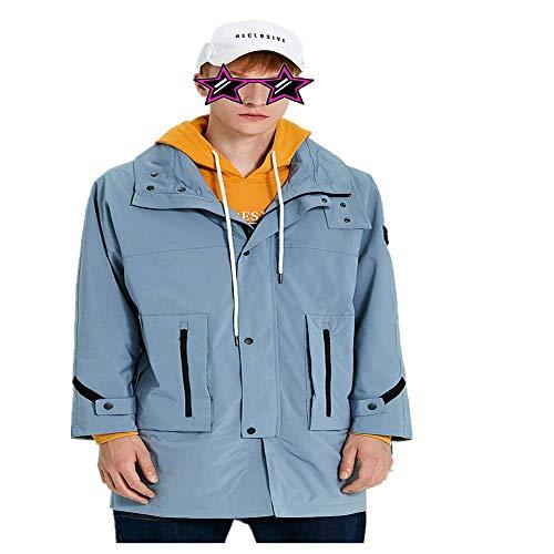 bon comparatif NOBRAND Coupe-vent pour hommes Version coréenne de longueur moyenne de la belle veste de marque de mode… un avis de 2021