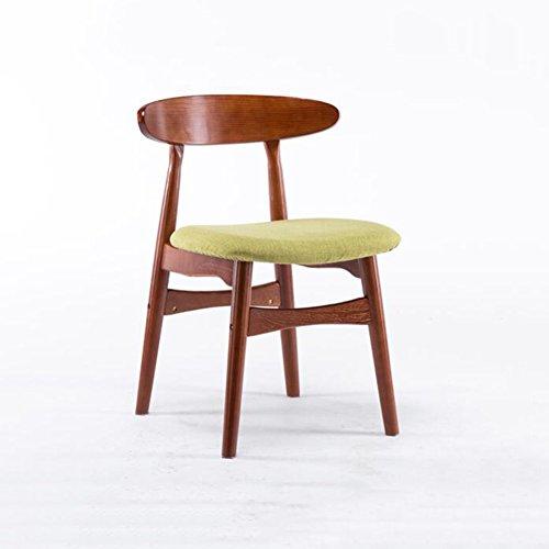 XUERUI klaptafel massief houten stoel rugkussen zacht kussen Cafeteria bureaustoel slaapkamer restaurant, Blue