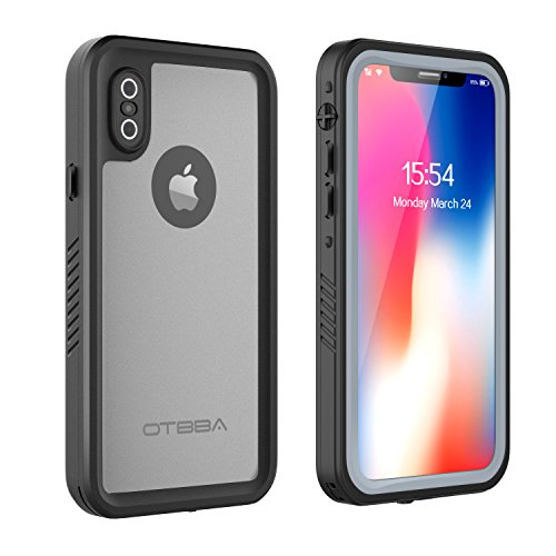 Funda impermeable OTBBA iPhone X / iPhone Xs, sellada por completo ...