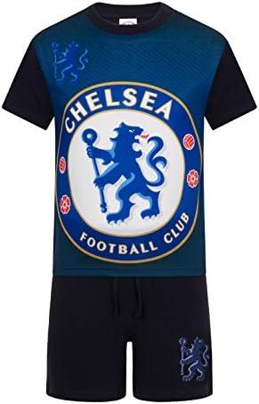 Chelsea FC Pijama corto para niño Azul