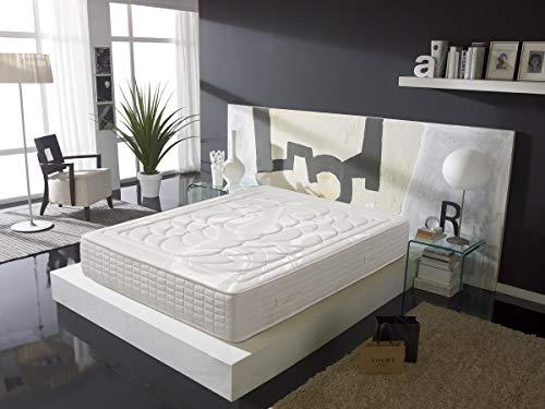 Colchón de Muelles Ensacados con viscoelástica 150X190 - Efecto Relax 7 Zonas de Confort - Altura 27 cm | Certificado Sanitized® yOeko-Tex®