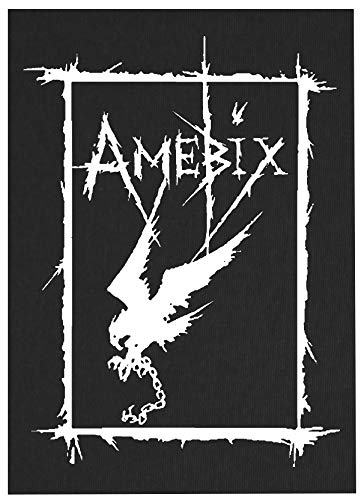 Amebix Back Patch - Antisect Discharge Axegrinder Deviated Instinct of Survival Crass Subhumans Misery Leftover Crack Choking Victim Doom Acrostix Age Anarcho Anti Cimex Aus-Rotten Avskum Chaos UK