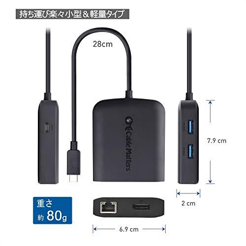 41ODhXa69yL-Amazonベーシックの「USB 3.1 タイプC  HDMIマルチポートアダプター」を購入したのでレビュー!