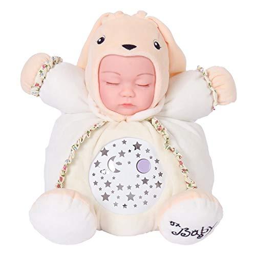 40 centimetri Cute Bunny morbido peluche bambola giocattolo panoramico cielo stellato proiezione luce lampada