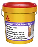 SikaWall-300 Ready Plus, Masilla acrílica lista para usar para puenteo de fisuras y pequeñas reparaciones, Blanca, 7 kg