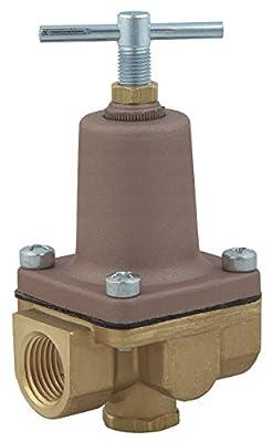 Pressure Regulator, 3/8 In, 3 to 50 psi from WATTS