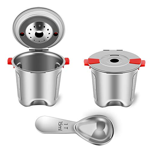Yeosen Stainless Steel Best Fitting Reusable K-Cups