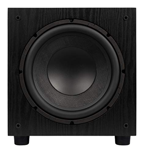 Find Bargain Elac SUB1010 120 Watt 10 Powered Subwoofer, Black, SUB1010-BK