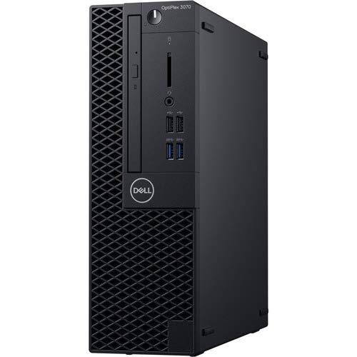 Dell OptiPlex 3070 Desktop Computer - Intel Core i5-9500 - 8GB RAM - 256GB SSD - Small Form Factor