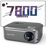 Proyector de cine en casa 80.000 horas 1080P Full HD 7800 lúmenes LCD LED Video Proyector para películas...