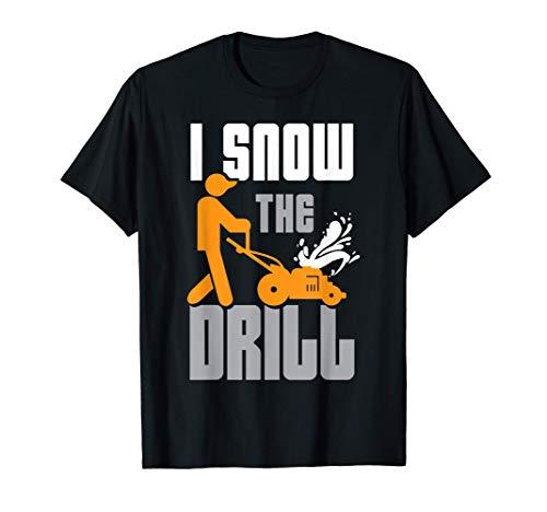Souffleuse à Neige Service D'hiver T-Shirt
