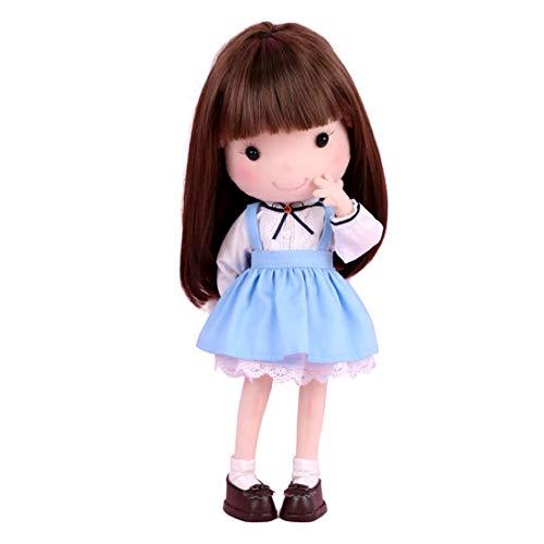 HYZM Kit para hacer muñecas, DIY 25 cm, tela de muñeca Kit de costura hecho a mano para adultos y niños – Little Girl equivocado Momoko