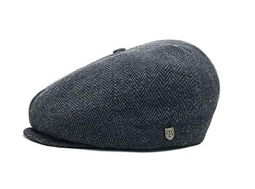 Casquette Brood Herringbone Brixton bonnet type gavroche casquettes d´ete (62 cm - noir)