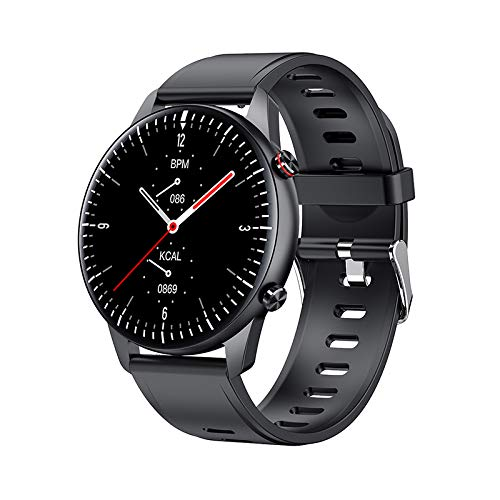 Reloj inteligente I15, rastreador de ejercicios, pantalla táctil de 1,28 pulgadas, resistente al agua IP67, monitor de frecuencia cardíaca, contador de pasos, contador de calorías