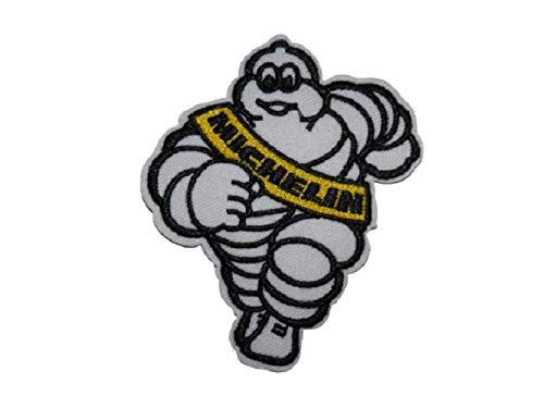 Parche bordado termoadhesivo Bibendum Michelin