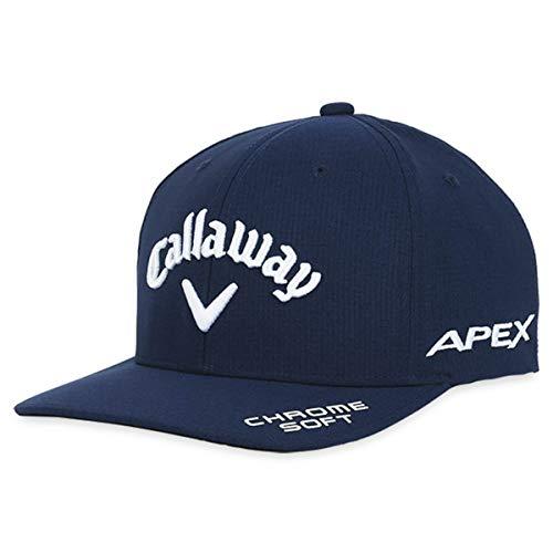 Callaway Mens 21 Cap-Navy Golf Tour Authentic Performance Pro Casquette 2021 pour Hommes, M-L
