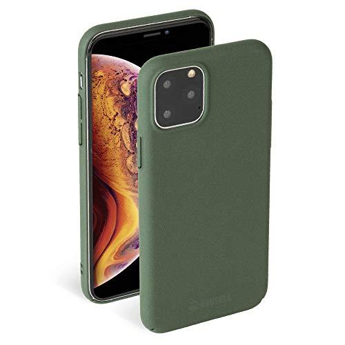 "Krusell Hülle geeignet für Apple iPhone 11 Pro 5.8"" TPU/PC - Sandby - Moos Handyhülle Case Cover Ultra-dünn und leicht"