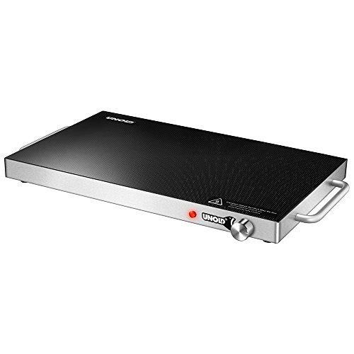 Unold Warming Plate Professional - Calentador de Alimentos (200 W, 240 V, 50-60 Hz, Negro, 350 mm, 570 mm)
