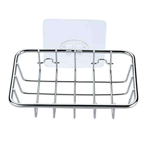 Yue668 - Soporte para jabón, jabonera, fregadero de cocina, cuarto de baño, fregadero de esponja de jabón, gran drenaje Bathroom Soap
