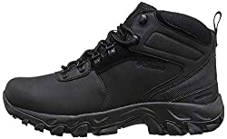 in budget affordable Columbia Newton Ridge Plus Ii Men's Waterproof Hiking Shoes Black / Black 15US