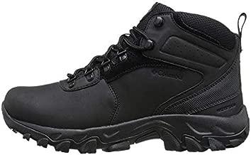 Columbia mens Newton Ridge Plus Ii Waterproof Hiking Boot, Black/Black, 12 US