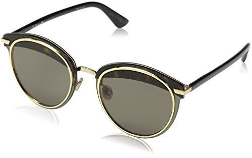 Dior Damen Dioroffset1 2M 581 62 Sonnenbrille, Schwarz (Blck/Brown)