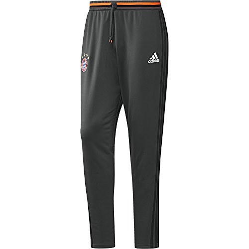 adidas Herren Fußballhose FC Bayern München Trainingshose, dgh solid grey, XS