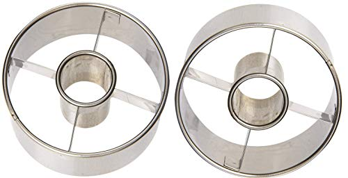 Ateco 14423 3-1/2-Inch Stainless Steel Doughnut Cutter (Set of 2)