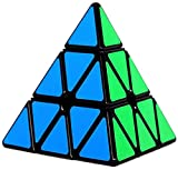 Pyramid Speed Cube 3X3 Triangle Magic Cube Puzzle Toy Black