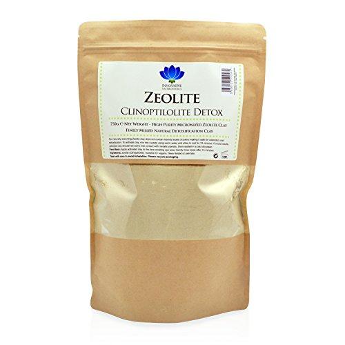 Polvo desintoxicante de zeolita micronizada, 750 g