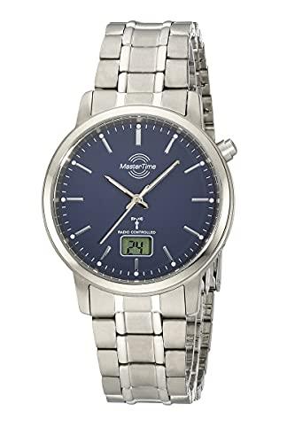 Master Time Reloj analógico digital para hombre con mecanismo de cuarzo y correa de titanio MTGT-10755-31M