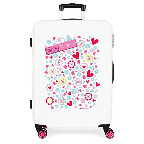 Movom Happy Time Luggage- Kids' Luggage, 48x68x26 cms, Multicolored