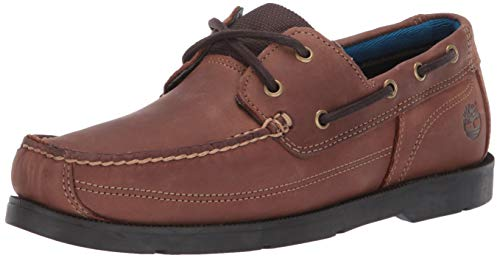 Timberland Men's Piper Cove FG Boat Shoe,Medium Brown,12 W US