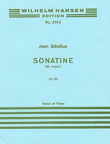 Jean Sibelius: Sonatina In E Major voor viool en piano Op.80