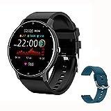 ZGLXZ Smart Watch Fitness Tracker, Hombres Mujeres Impermeable Tarifa Cardíaca Deportes Smartwatch...