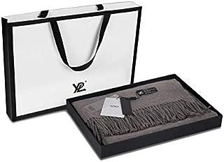 YPL Merino Wool Scarf, Color Changing Starry Sky, 200CM x 70CM, Soft Fashion Wraps
