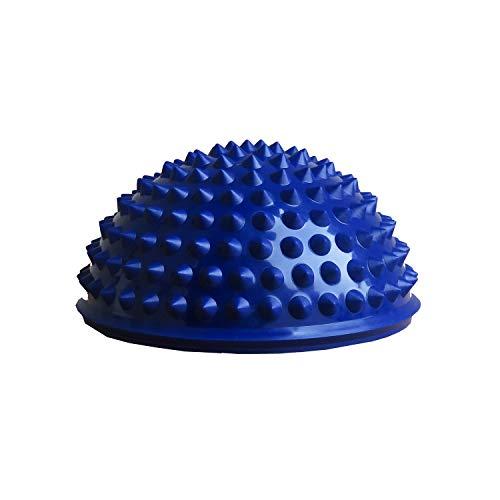 Igelball Massageball Noppenball Halbkugel-Igelball 16x9cm - blau