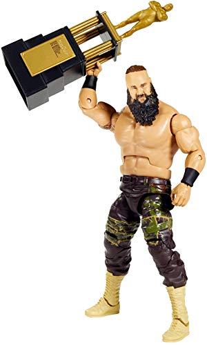 WWE GKP99 - WWE Elite Collection Action Figur (15 cm) Braun Strowman mit realistischen Gesichtszügen, bewegliche Spielzeug Actionfigur ab 8 Jahren
