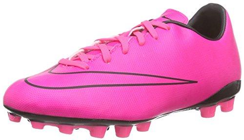 Nike Jungen Junior Mercurial Victory V AG Fußballschuhe, Pink (Hyper Pink/Hyper Pink-Blk-Blk), 35 EU
