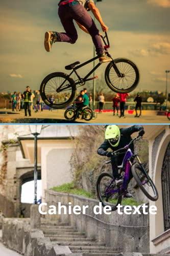 cahier de texte garçon primaire collège BMX - Les 6 jours de la semaines (du lundi au samedi)