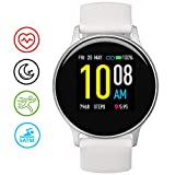 Smart Watch, UMIDIGI Uwatch 2S Fitness Tracker Heart Rate Monitor, Activity Tracker with 1.3' Touch Screen, 5ATM Waterproof Pedometer Smartwatch Sleep Monitor for iPhone and Android.