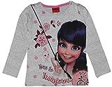 Miraculous Ladybug T-shirt en coton pour fille -  Gris - Medium