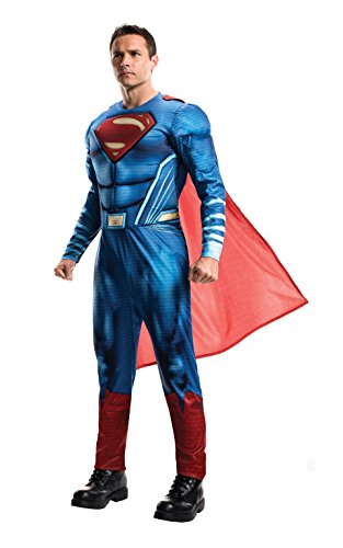 Rubie's Offizielles Superman-Kostüm für Erwachsene, DC Warner Bros Justice League Superman-Kostüm