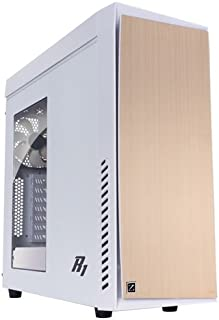 Zalman R1-White Midi-Tower Blanco - Caja de Ordenador (Midi-Tower, PC, Blanco, ATX,ITX,Micro ATX, Hogar/Oficina, 36 cm)