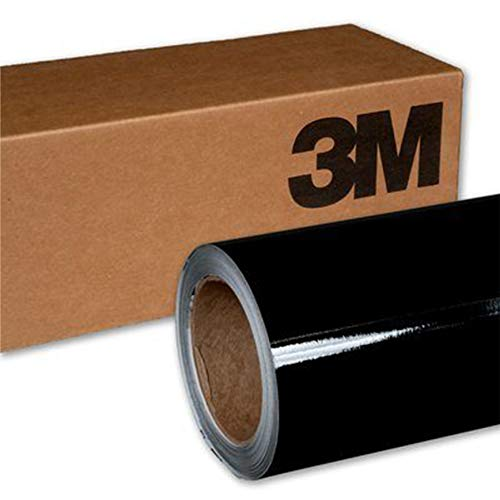 3M 2080 G12 GLOSS BLACK 5ft x 6ft (30 Sq/ft) Car Wrap Vinyl Film